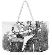 Jewelry: Planishing Weekender Tote Bag