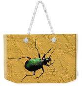 Jeweltone Beetle Weekender Tote Bag