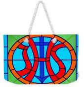 Jhs Christogram Weekender Tote Bag