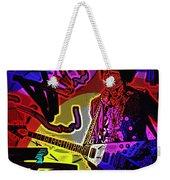 Jimi Hendrix Number 22 Weekender Tote Bag