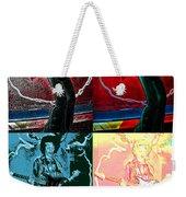 Jimmy Hendrix Pop Weekender Tote Bag