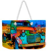 Jimmy In Taos II Weekender Tote Bag