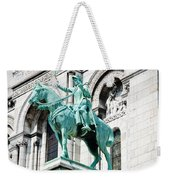 Joan Of Arc At Sacre Coeur Basilica Paris France Weekender Tote Bag