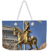 Joan Of Arc Statue New Orleans Weekender Tote Bag