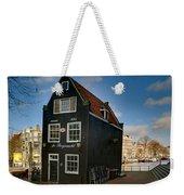 Jodenbreestraat 1. Amsterdam Weekender Tote Bag