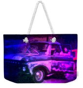 Joe And The Pontiac Truck Weekender Tote Bag