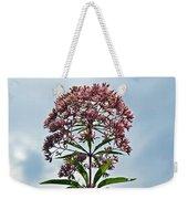 Joe-pye Weed Wildflower - Eupatorium Weekender Tote Bag