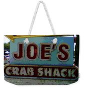 Joe's Crab Shack Weekender Tote Bag