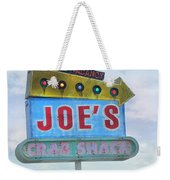 Joe's Crab Shack Retro Sign Weekender Tote Bag
