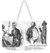 John Brown Cartoon, 1859 Weekender Tote Bag by Granger
