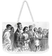 John Brown Trial, 1859 Weekender Tote Bag