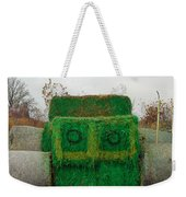 John Deer Made Of Hay Weekender Tote Bag