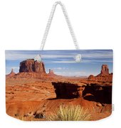 John Ford Point Monument Valley Weekender Tote Bag