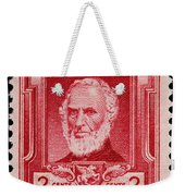 John Greenleaf Whittier Postage Stamp Weekender Tote Bag