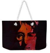 John Lennon Watercolor Weekender Tote Bag