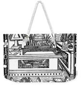 John Peckham, Anglican Theologian Weekender Tote Bag by Science Source