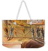 John W.booth (1835-1865) Weekender Tote Bag