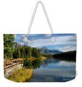 Johnson Lake Weekender Tote Bag