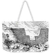 Johnstown Flood: Dam, 1889 Weekender Tote Bag