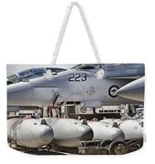Joint Operations Squadron V4  Weekender Tote Bag