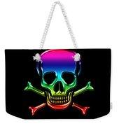 Jolly Roger Rainbow Weekender Tote Bag