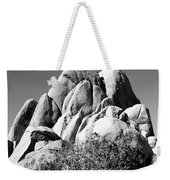 Joshua Tree Center Bw Weekender Tote Bag