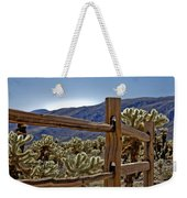 Joshua Tree Cholla Garden Weekender Tote Bag