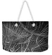 Journey Inward Monochrome Weekender Tote Bag