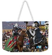 Joust To The End... Weekender Tote Bag