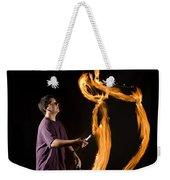 Juggling Fire Weekender Tote Bag