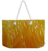 Juicy. Abstract Macro.  Weekender Tote Bag