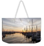 July Evening In The Marina Weekender Tote Bag