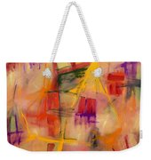 Jump Start Weekender Tote Bag