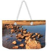 Jumping Stones Weekender Tote Bag