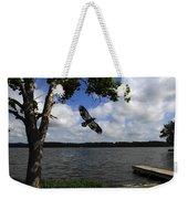 Junenile Eagle Rocky Fork Lake Weekender Tote Bag