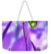 Jungle Iris Weekender Tote Bag