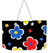 Junior Florals Weekender Tote Bag by Louisa Knight