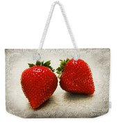 Just 2 Classic Berries Weekender Tote Bag