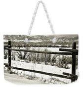 Just Beyond The Fence 1 Weekender Tote Bag
