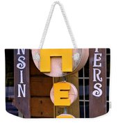 Just Say Cheese Weekender Tote Bag