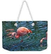 Jw Marriot Flamingo Weekender Tote Bag