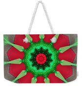 Kaleidoscope Mermaid Weekender Tote Bag