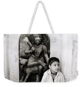 Kali In Benares Weekender Tote Bag by Shaun Higson