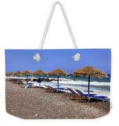 Kamari - Santorini Weekender Tote Bag
