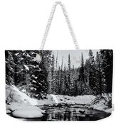 Kananaskis Creek Weekender Tote Bag