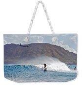 Kaneohe Bay Sufer Mcbh Weekender Tote Bag