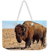 Kansas Buffalo Weekender Tote Bag
