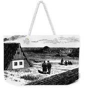 Kansas, Mennonites, C1874 Weekender Tote Bag