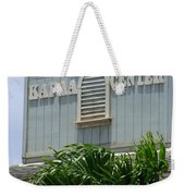 Kapaa Trade Center Weekender Tote Bag