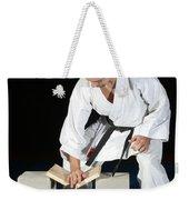 Karate Weekender Tote Bag